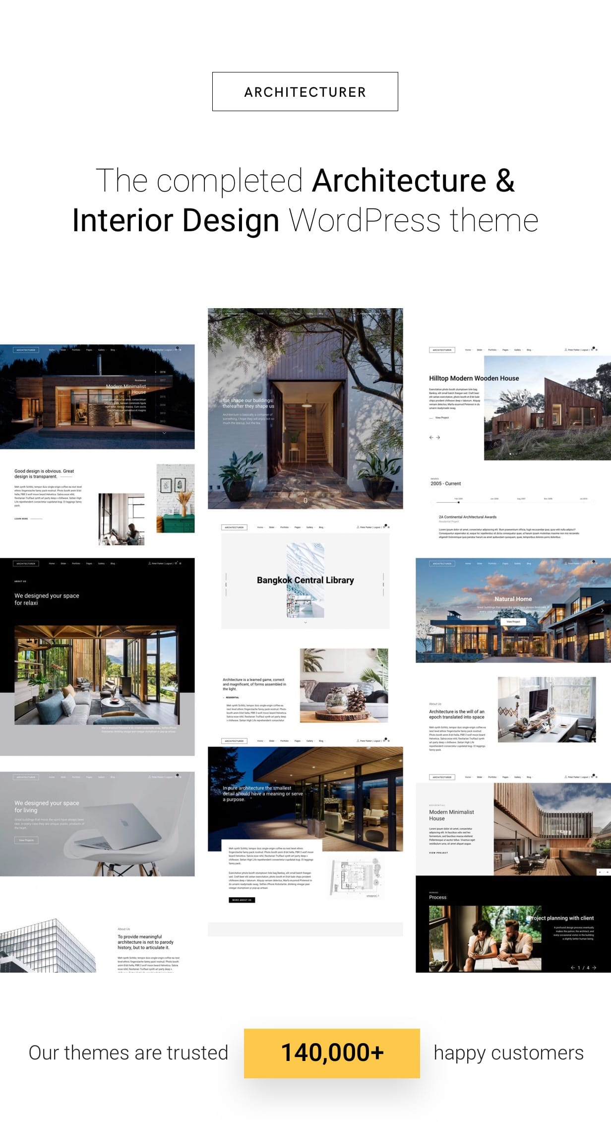 Architecturer WordPress for Interior Designer Download