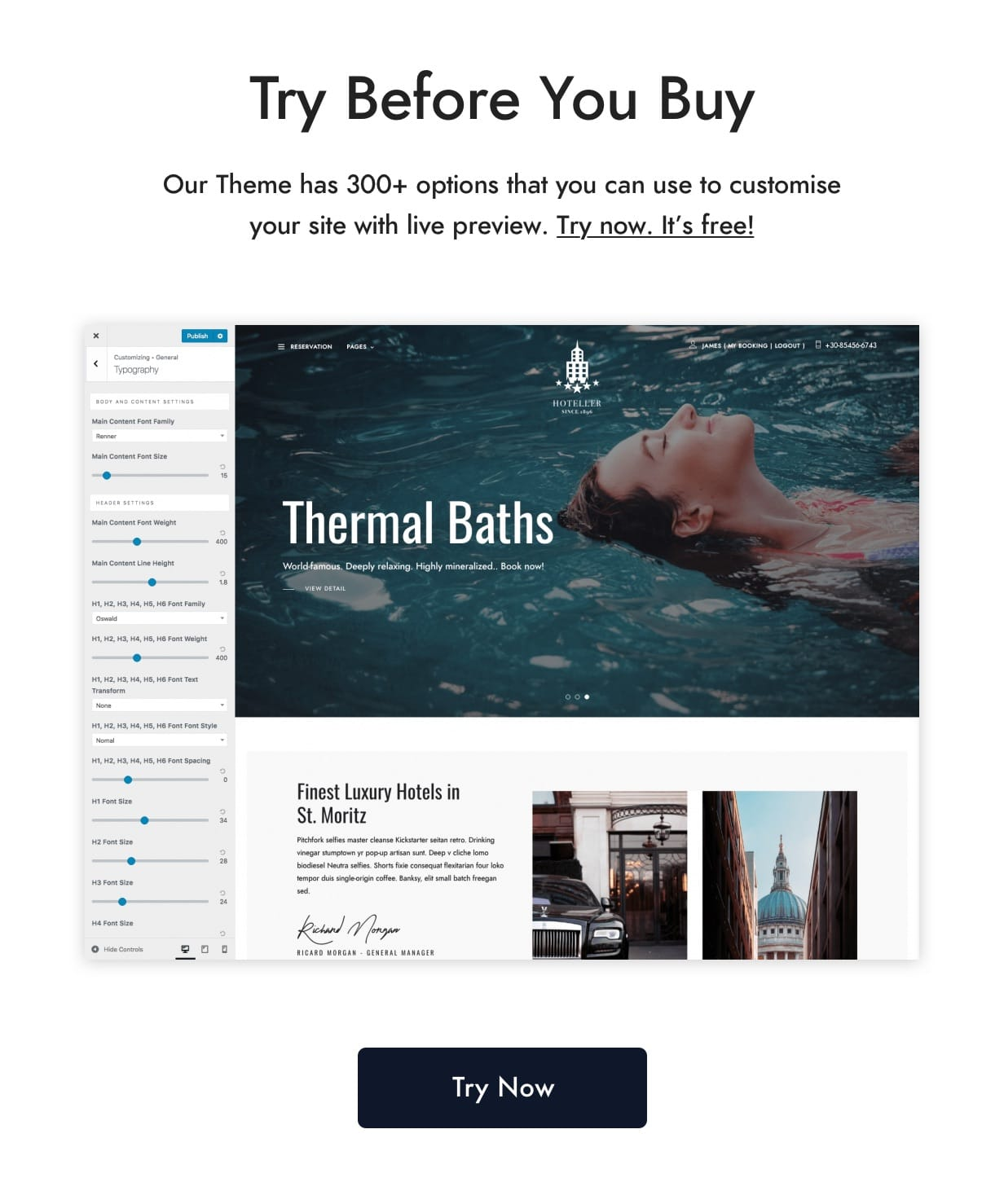 hoteller | hotel booking wordpress (travel) Hoteller | Hotel Booking WordPress (Travel) try